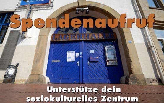 Unterstütze dein Kulturzentrum