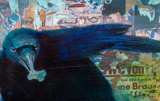 Charity-Aktion: Künstler Dieter Krüger spendet sein Werk an die Lagerhalle