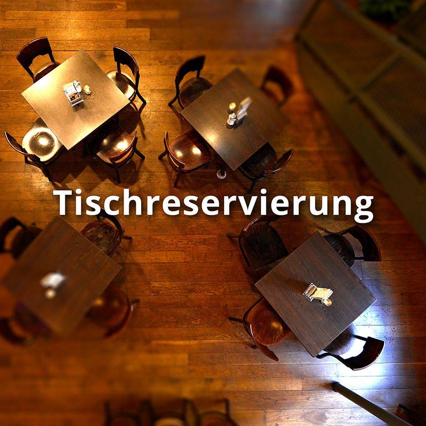 Tischreservierung